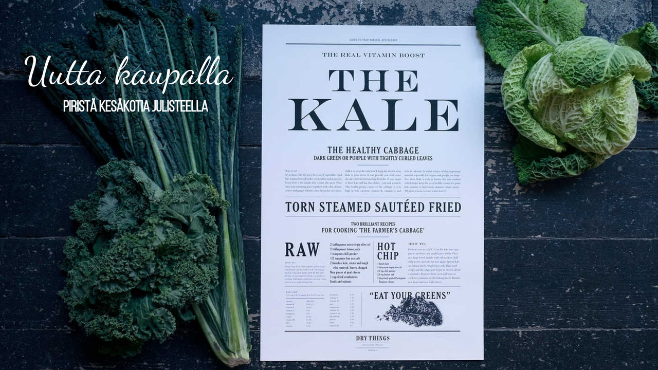 the kale